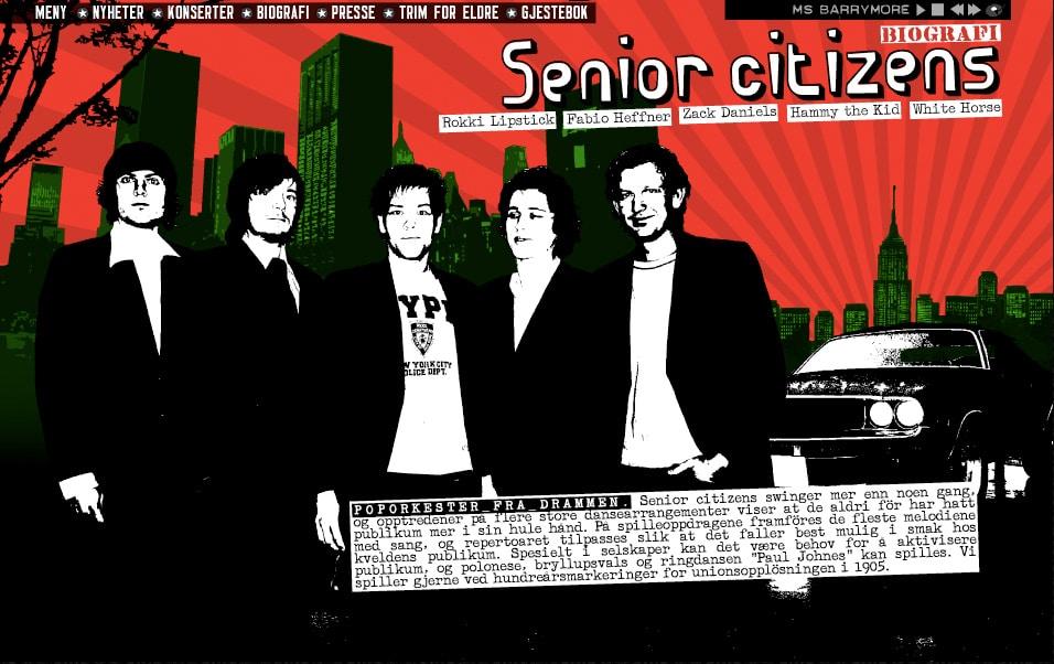 Senior Citizens / Nettside