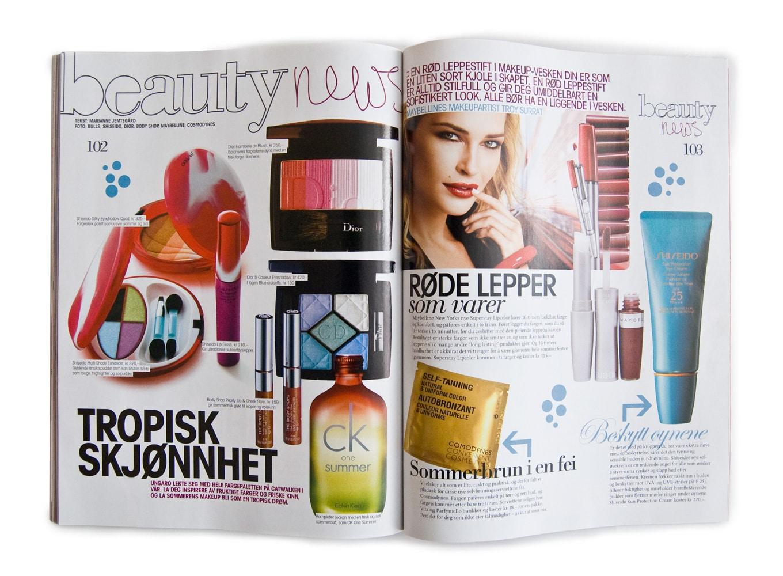 Egmont / Inside Magazine - Makeup
