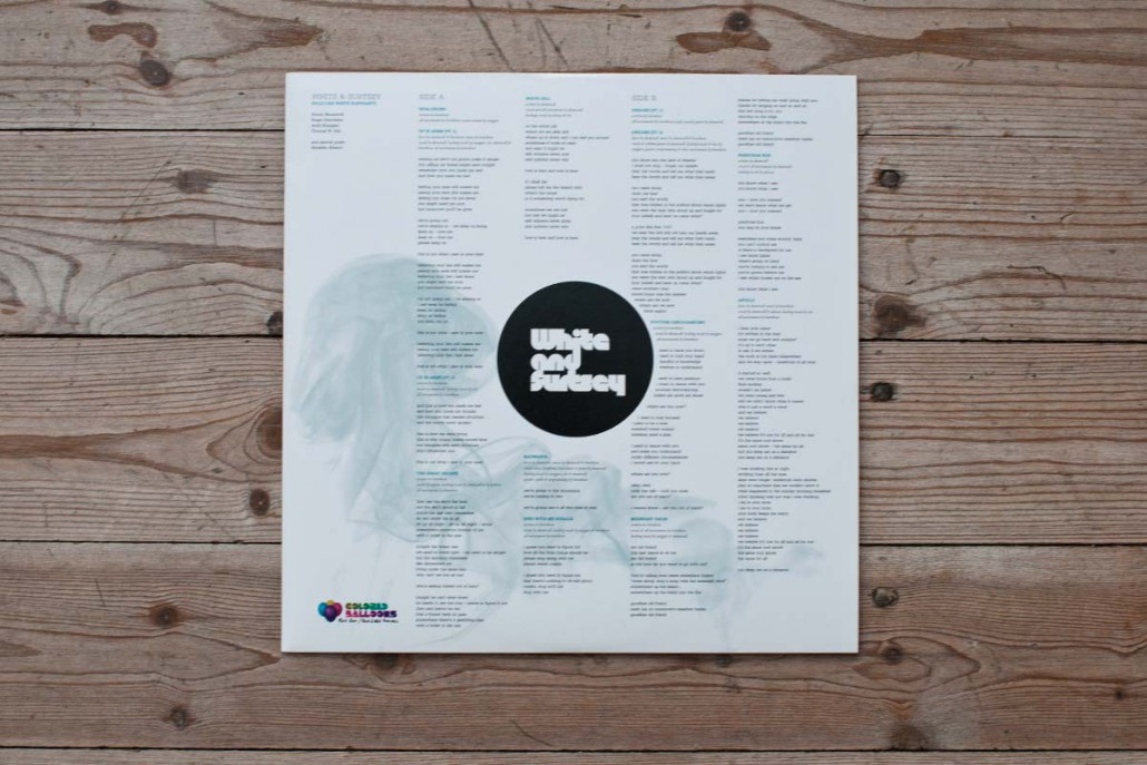 White & Surtsey / Album cover