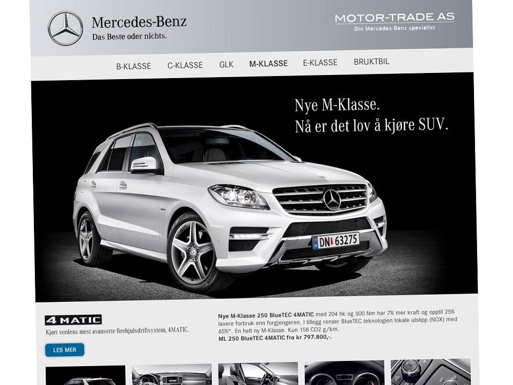 Motor-Trade / Kampanjeside