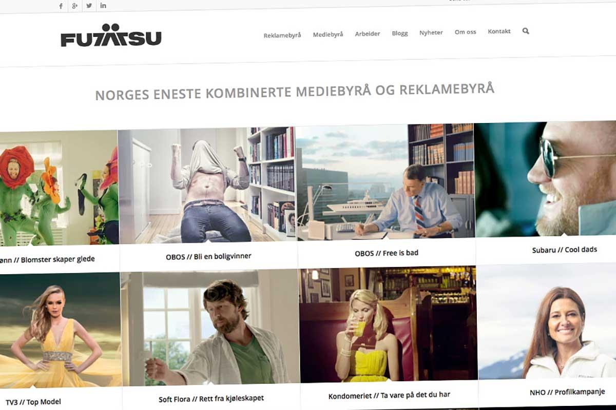 Futatsu / Redesign nettside