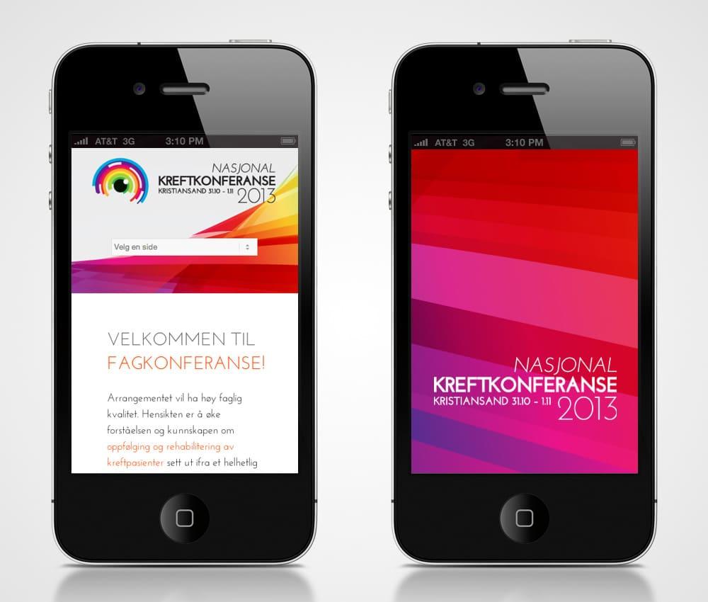 Kreftkonferansen - iphone