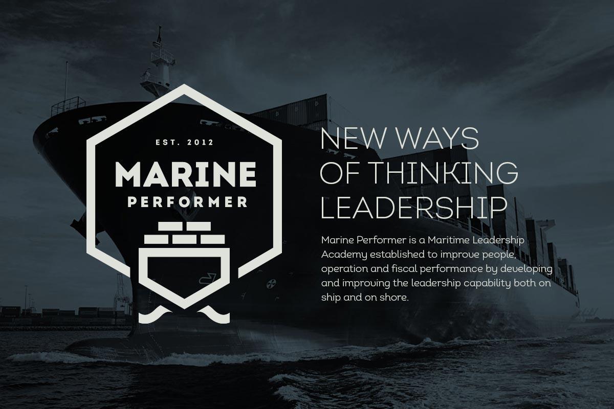 Marine Performer / Profil - typografi