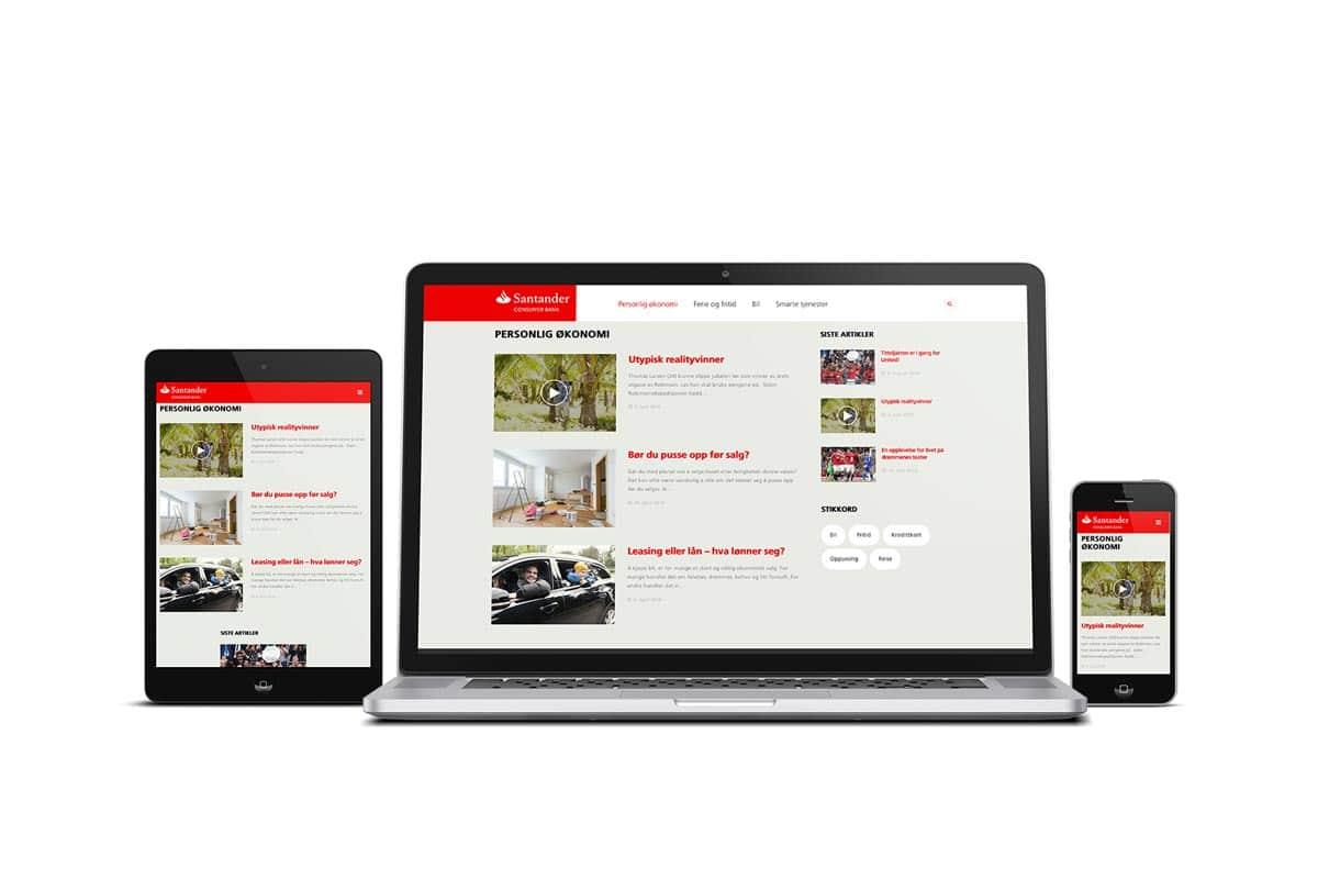 Santander Consumer Bank as / Blogg