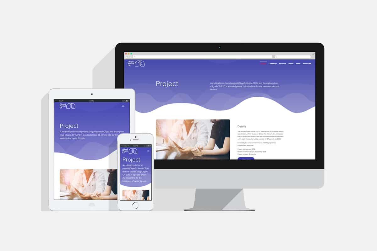 OligoGpivotalCF responsiv nettside - Havdur Design