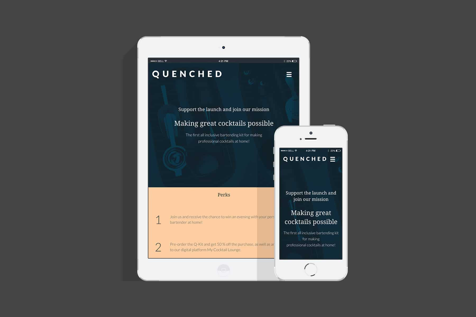 Quenched / Nettside - Havdur Design