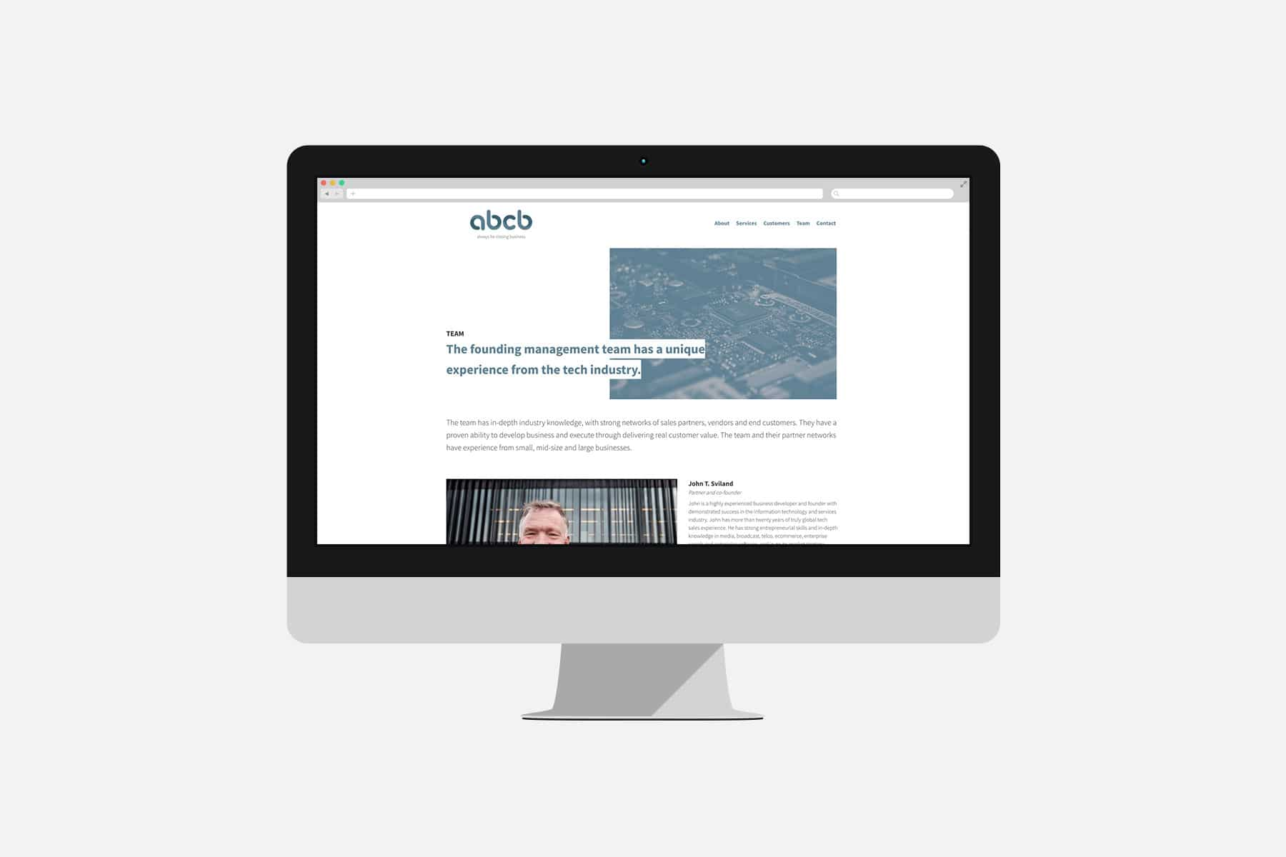 abcb / Nettside - Havdur Design