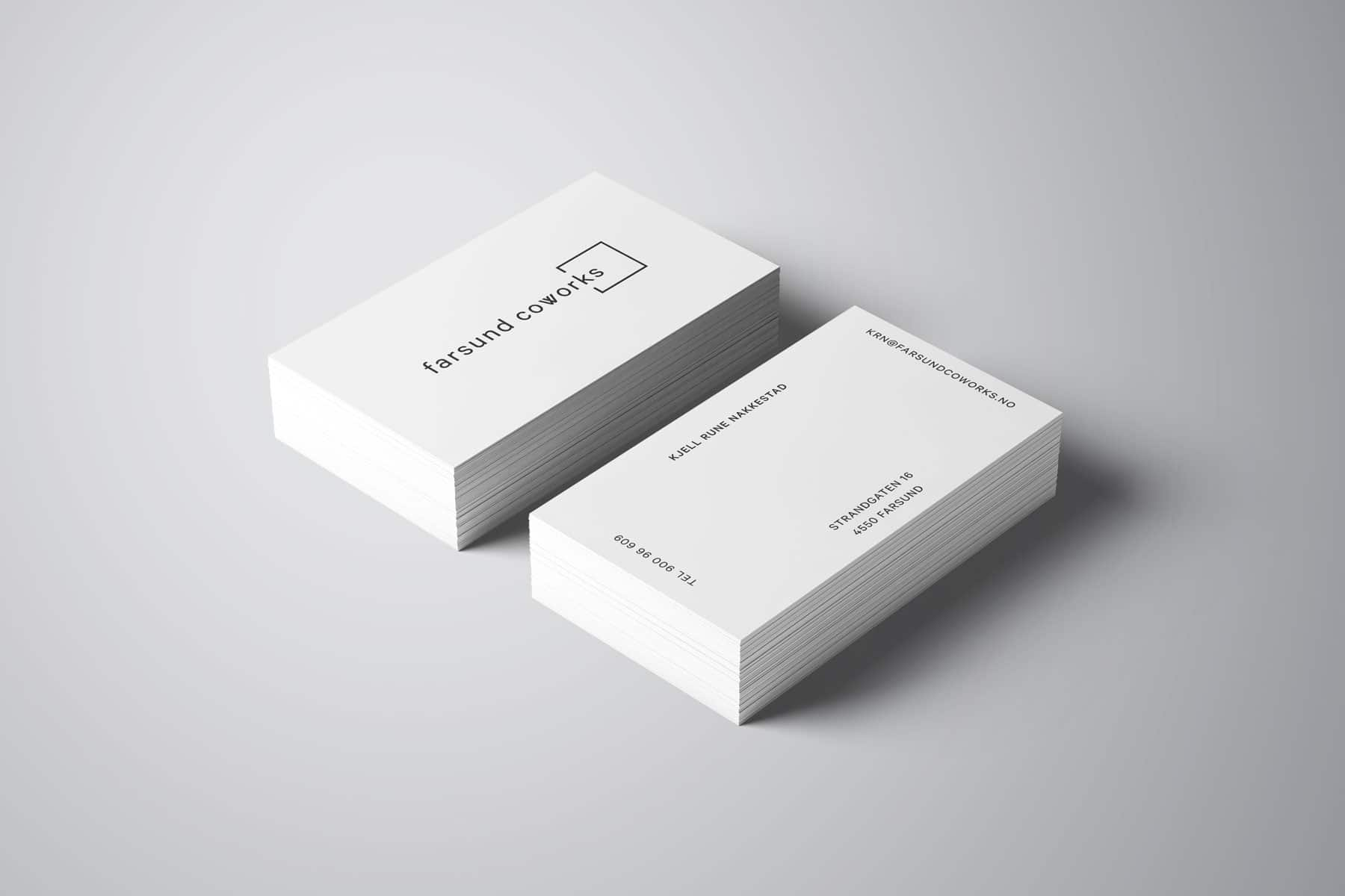 Farsund Coworks / Logo - Havdur Design